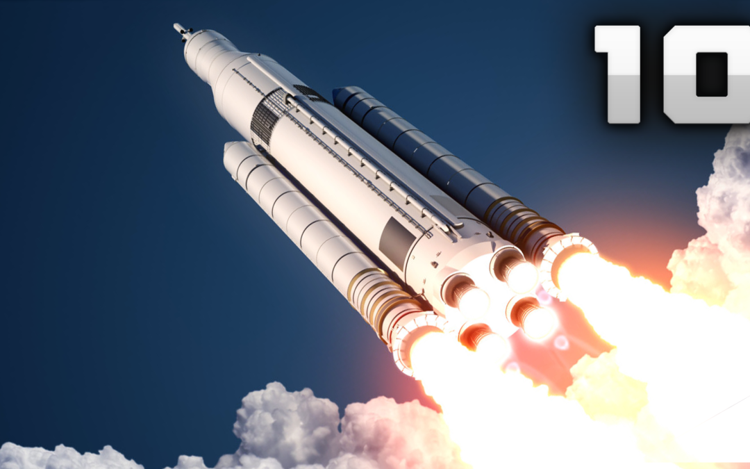 10 Most Powerful Space Rockets Ever!